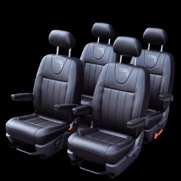Originele stoelen en banken voor bedrijfswagens